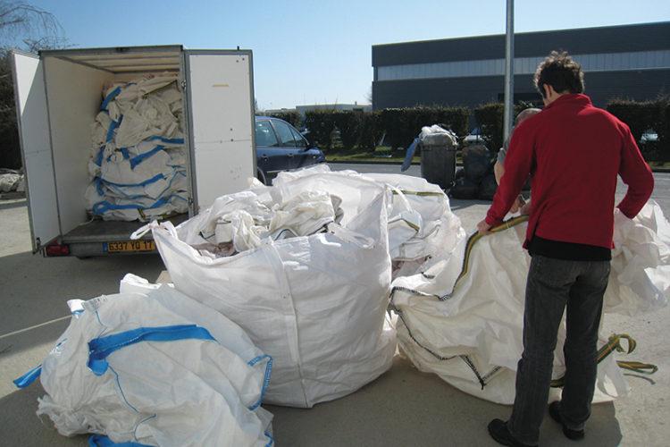 Des big bag pour faciliter la collecte des déchets