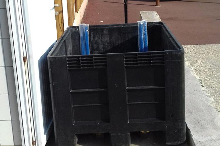 Un géobox pour faciliter la collecte des déchets